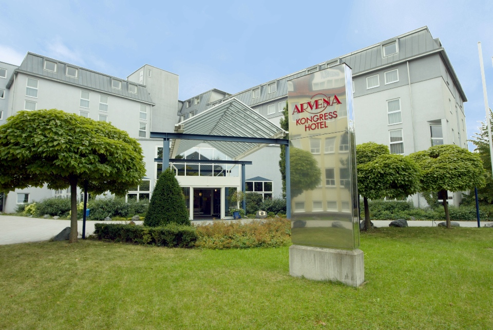 Außenansicht vom Arvena Kongress Hotel
