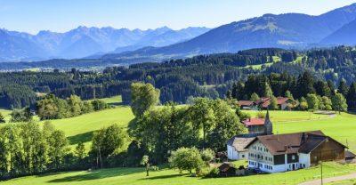 Allgäuer Panorama im Sommer