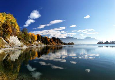 Herbstlandschaft am Forggensee