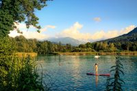 Sommer am Wörthersee in Klagenfurt
