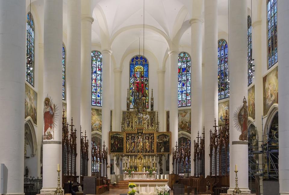Basilika St. Jacob, Straubing, Innenraum