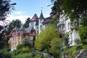 Häuser in St Gallen, Schweiz