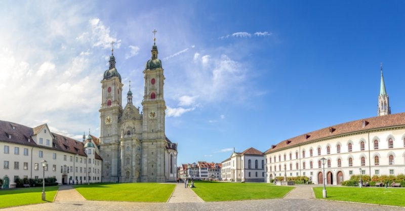 Stiftskirche St. Gallus und Otmar - Stiftsbezirk St. Gallen