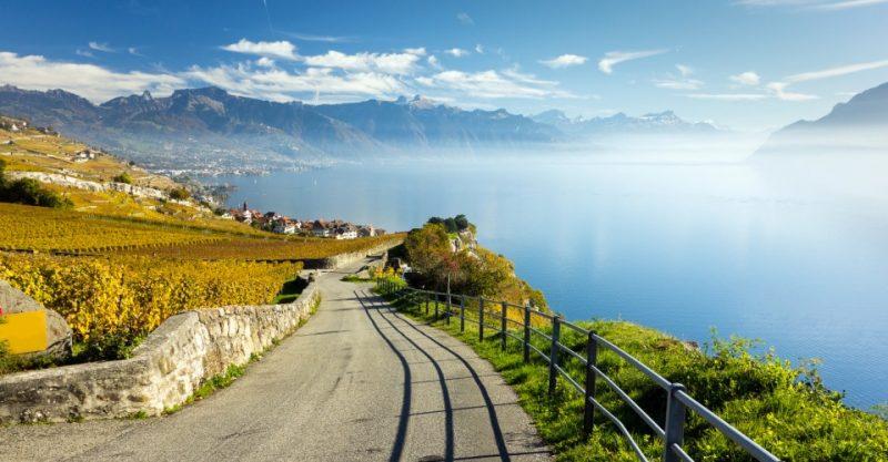 Lavaux, Rebbaugebiet, Schweiz