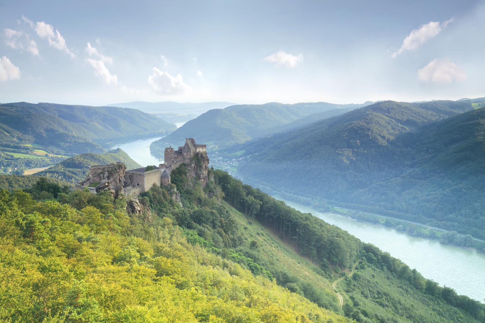 Burgruine Aggstein an der Donau - Wachau