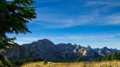 Ammergebirge, Ammergauer Alpen