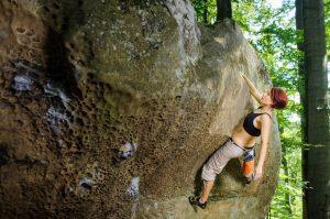 Bouldern in der Natur