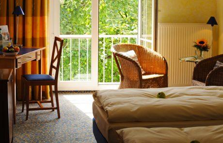 Zimmer im Hotel Erbgericht