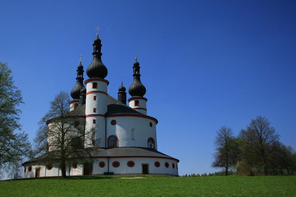 Dreifaltigkeitskirche Kappl bei Waldsassen - Wandern in Franken