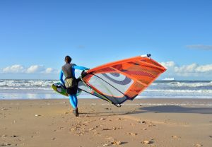 Windsurfer - Surfing