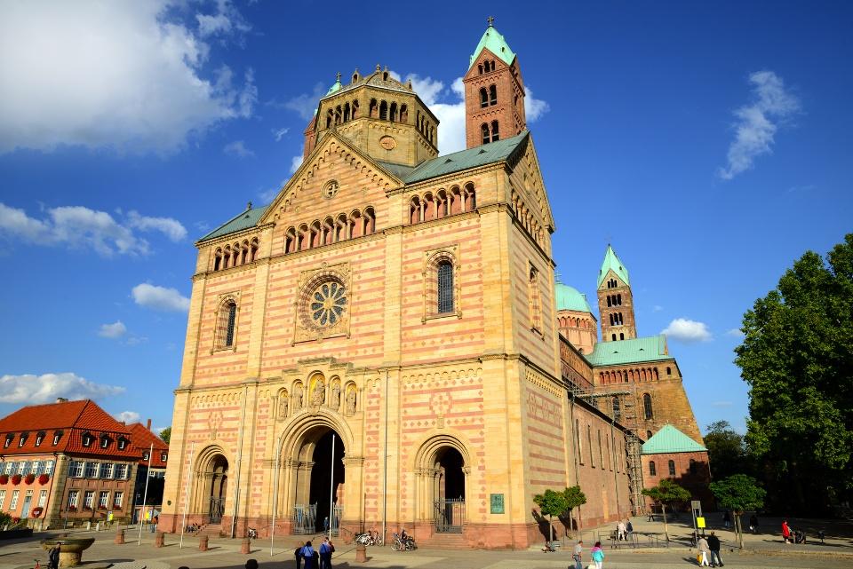 Kaiserdom zu Speyer, Rhein-Neckar-Gebiet