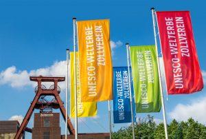 Die Zeche Zollverein gehört zum Weltkulturerbe der UNESCO