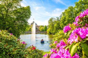 Kurpark Wiesbaden, Rhein-Main-Gebiet