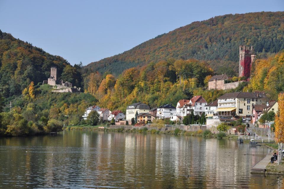 Neckarsteinach, Bergstraße und Odenwald