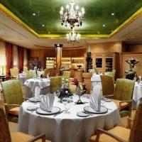 Blick ins Restaurant Caroussel