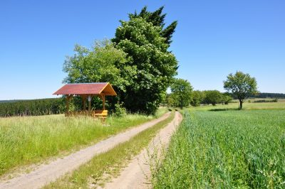 Wanderweg im Frankenwald - Wandern in Franken