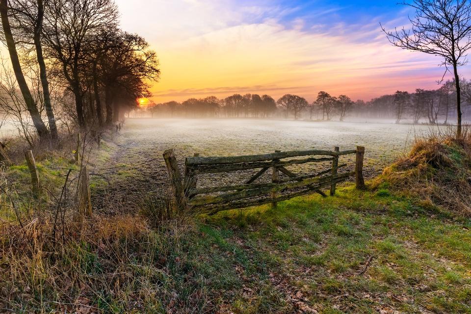 Moorlandschaft in Ostfriesland