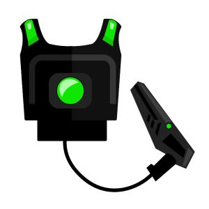 Laser Tag-Ausrüstung, Paintball
