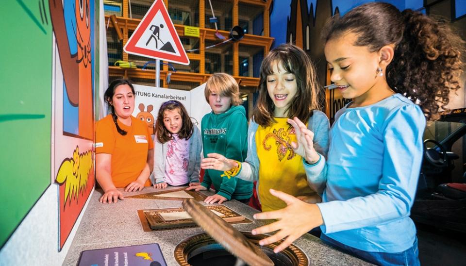 Das Museum mit der Maus im Odysseum