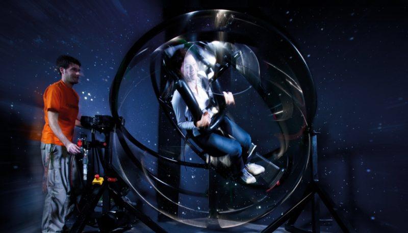 Themenwelt Erde, Astronautentrainer im Odysseum