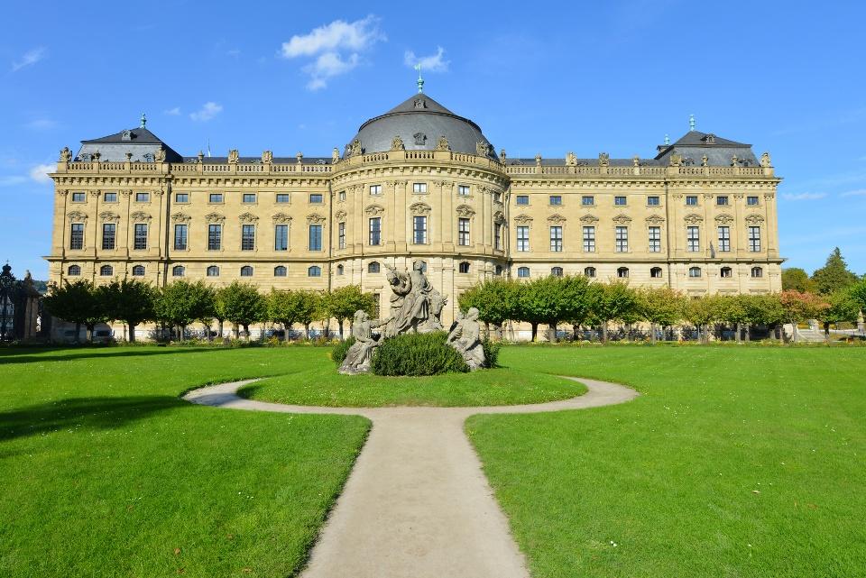 Residenz Würzburg am Mainradweg