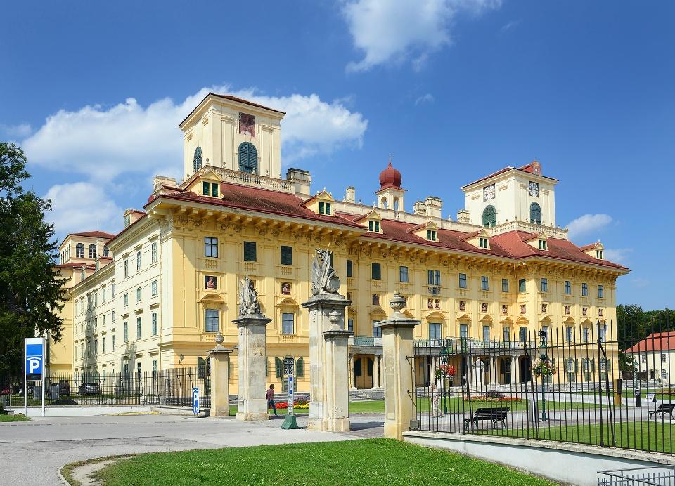 Schloss Esterhazy in Eisenstein, Burgenland