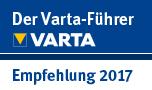 Varta-Führer 2017 - Empfehlung