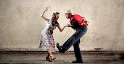 Tanzendes Paar - Lindy Hop