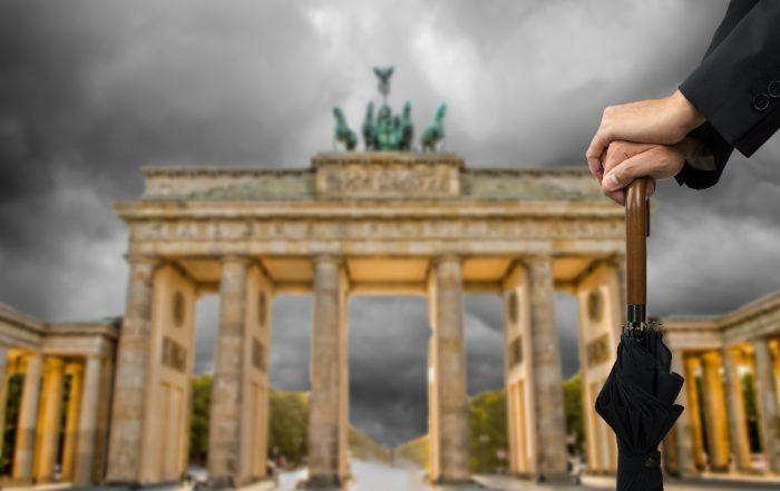 Berlin bei Regen
