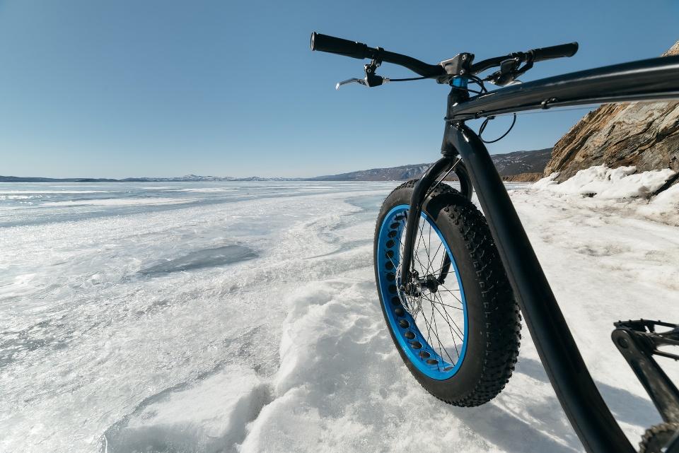 Fatbike im Schnee, Wintersporttrends