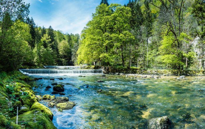 Flusslandschaft im Neuenburger Jura, La Chaux de Fonds