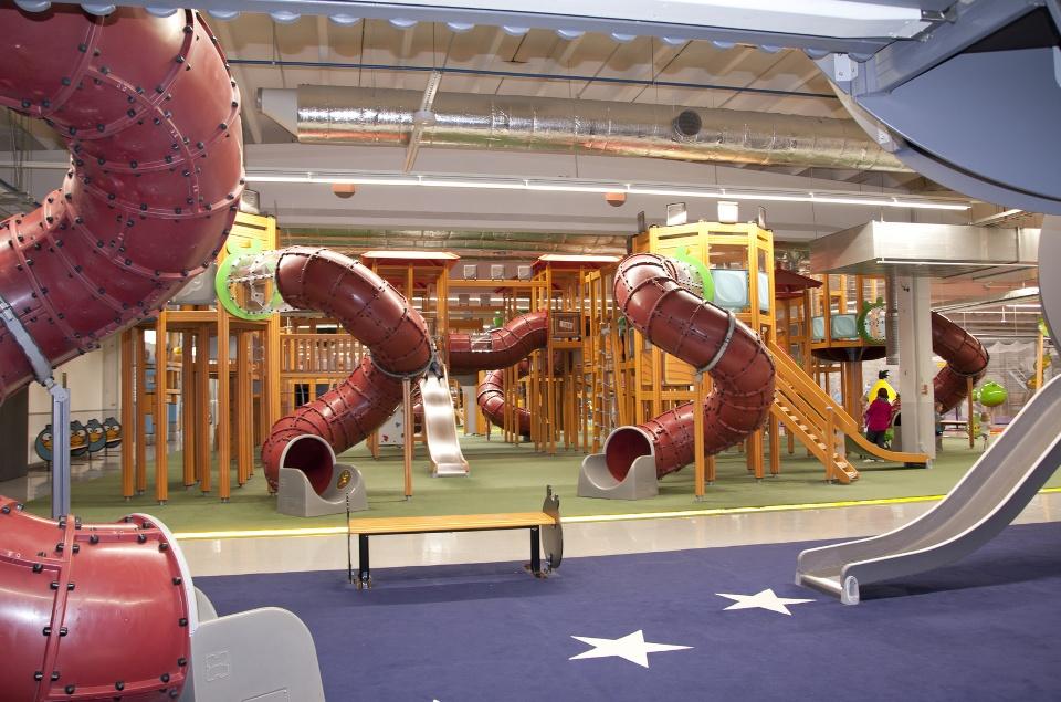 Indoor-Spielplatz, Indoor-Freizeit-Tipps