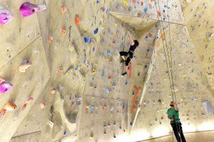 Indoor Klettern