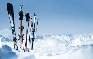 Skier im Schnee, Wintersporttrends