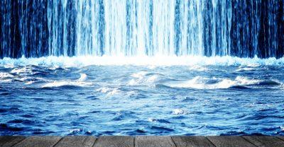 Solebad - Wasserfall