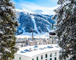 Davos, Schweiz, Wintersportorte