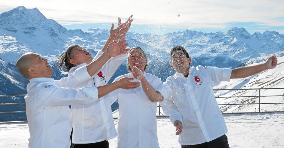 St. Moritz Gourmet Festival: High Alpine Sushi, Nakamura, Mathis, Yonemura, Sakagami