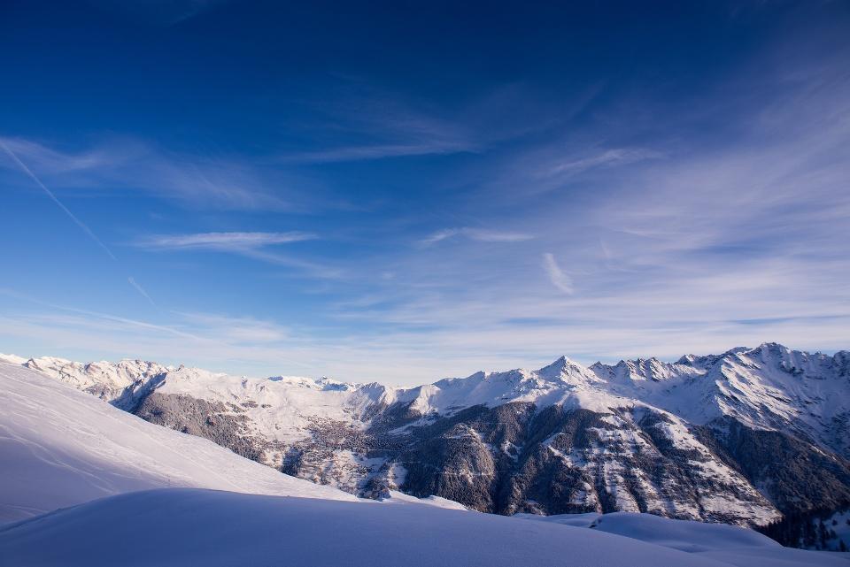 Verbier, Schweiz, Wintersportorte