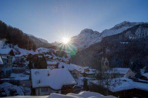 Wengen, Bern, Schweiz, Wintersportorte