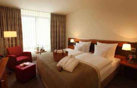 Doppelzimmer im Hotel Kranichhöhe