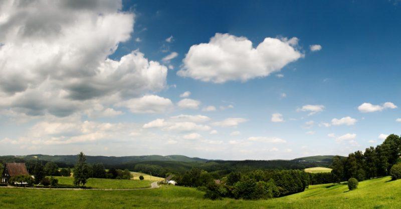 Panorama im Bergischen Land