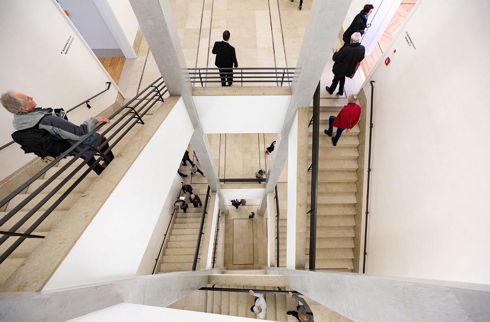Treppenhaus im Museum Barberini