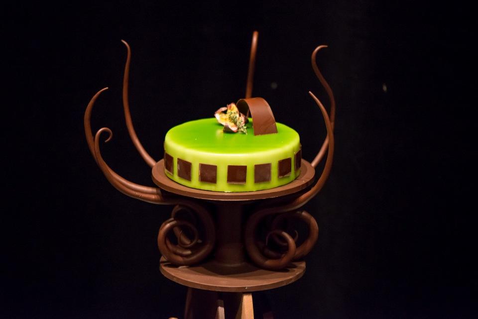 Schaustück auf dem Petit Salon du Chocolat
