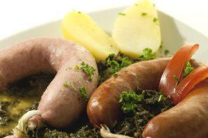 Grünkohl mit Bregenwurst, Braunschweiger Land
