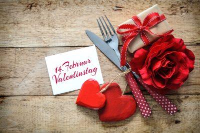 Genuss am Valentinstag