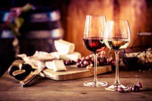 Käse und Wein, Indoor-Tipps