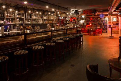 Widder Garage Bar im Widder Hotel in Zürich