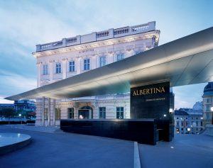 Albertina in Wien, Österreich