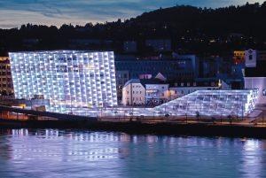 Ars Electronica Center in Linz, Österreich
