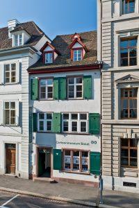 Cartoonmuseum Basel, Schweiz